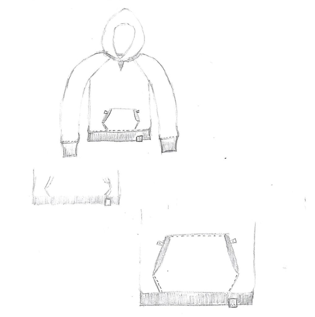 dessin hoodie face
