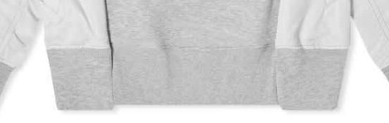 Sélection hoodies détail Sacai