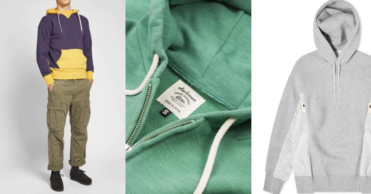 Une sélection de hoodies qui m'ont tapé dans l'oeil