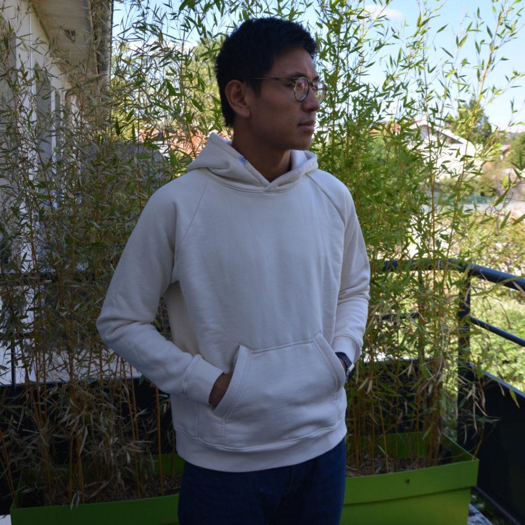 Le prototype du hoodie Chez Molton