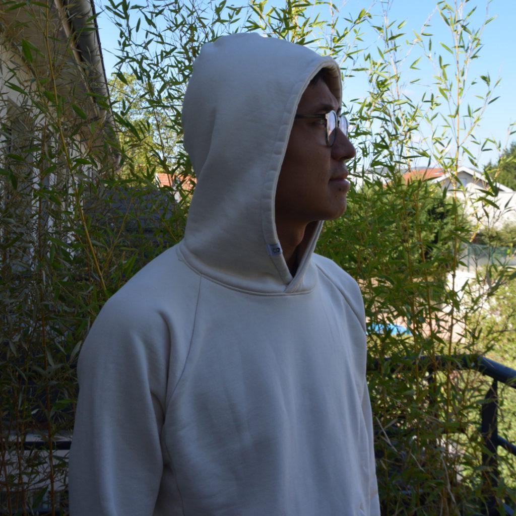 Capuche prototype hoodie Chez Molton