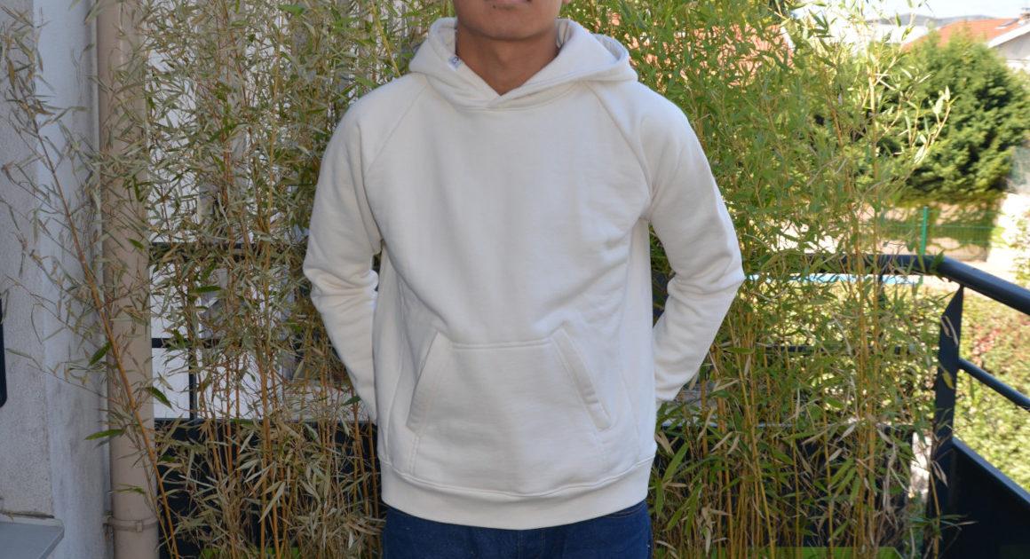 Le prototype v3 du hoodie Chez Molton