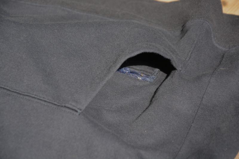 Prototype 2 - poche zippée dans la poche - Evolution